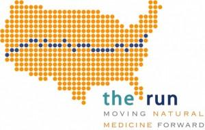 the run logo