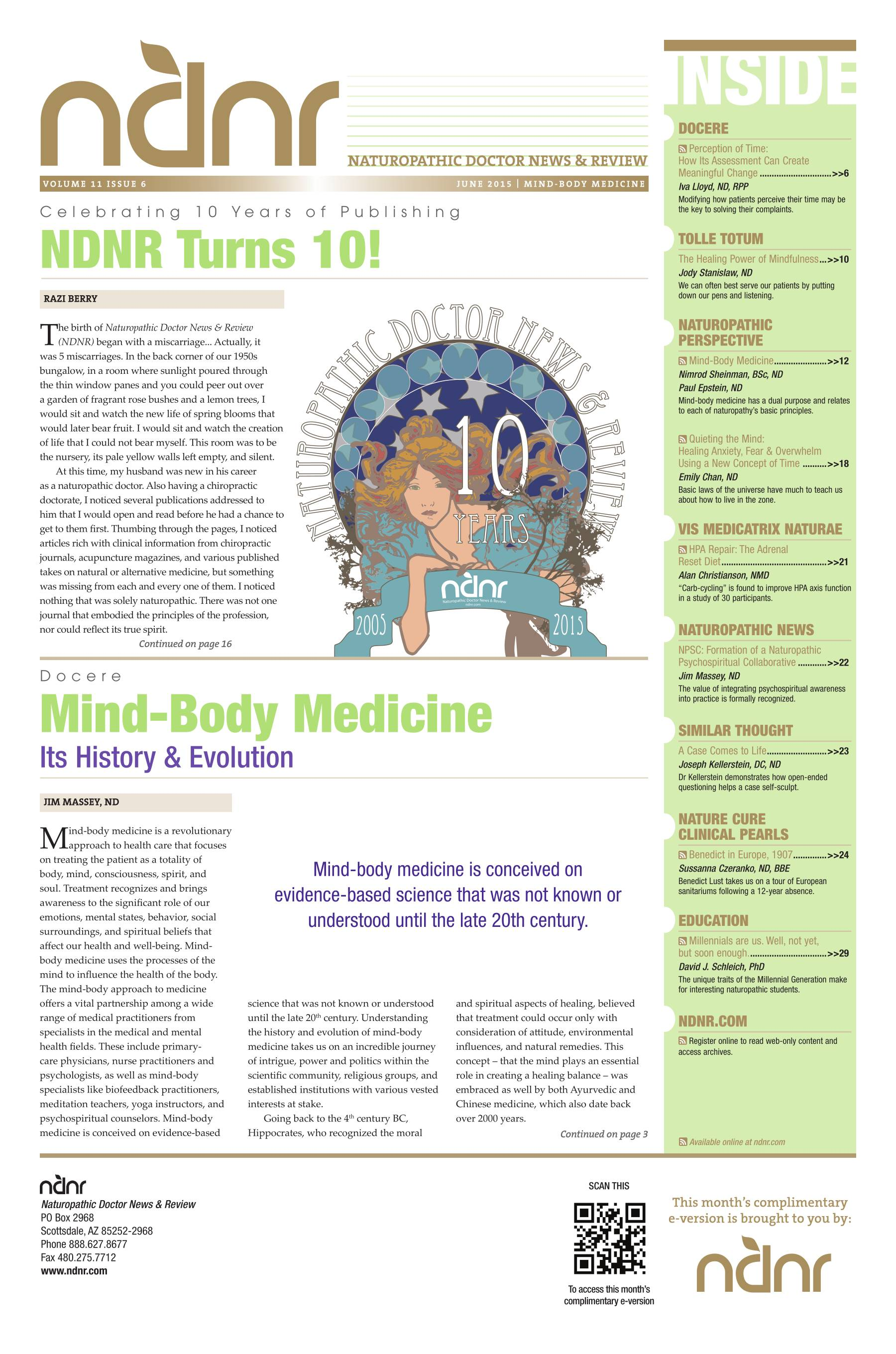 Naturopathic Doctor News And Review The Voice Of Naturopathic Medicine