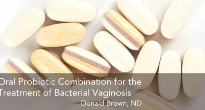 Oral Probiotic Combination for the Treatment of Bacterial Vaginosis