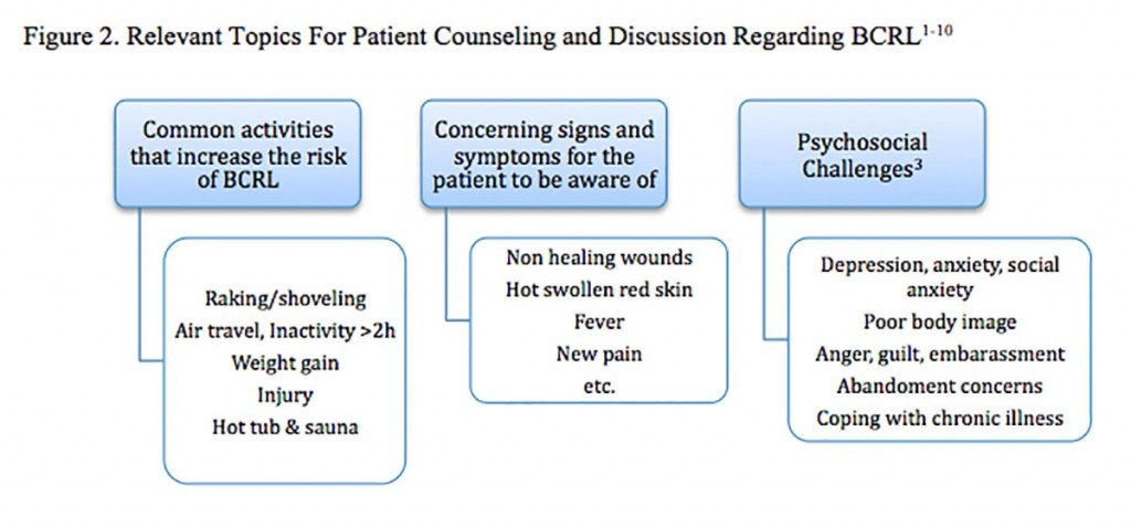 Moore2_Figure_2._ Relevant_Topics_ For_Patient_ Counseling_and_ Discussion_ Regarding_ BCRL_Scholarship_2013