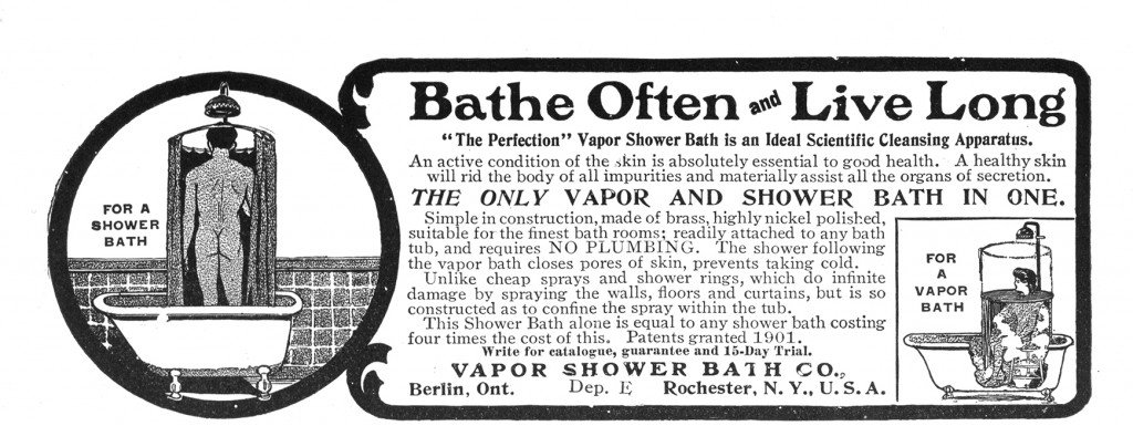 Figure 3. The Vapor Shower Bath