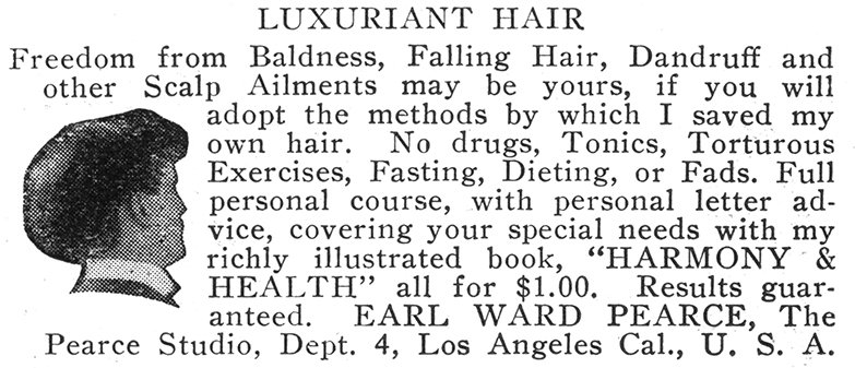 Figure 1_luxuriant hair_ad for book; 1915