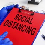 New Modeling on SARS-CoV-2 and Social Distancing