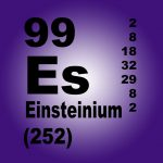 First Measurements of Element: Einsteinium