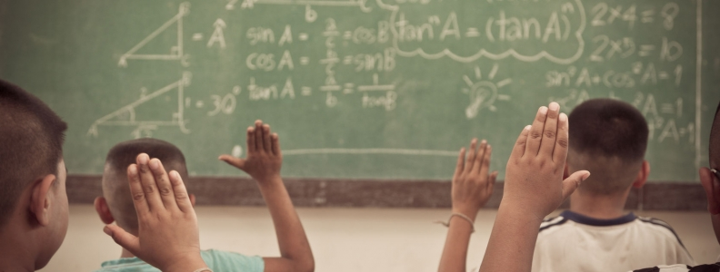 Interacting with Our Hands May Increase Problem Solving Ability; Help with Math Anxiety