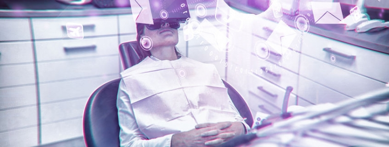 Using Virtual Reality to Lower Pain Experience of Dental Procedures
