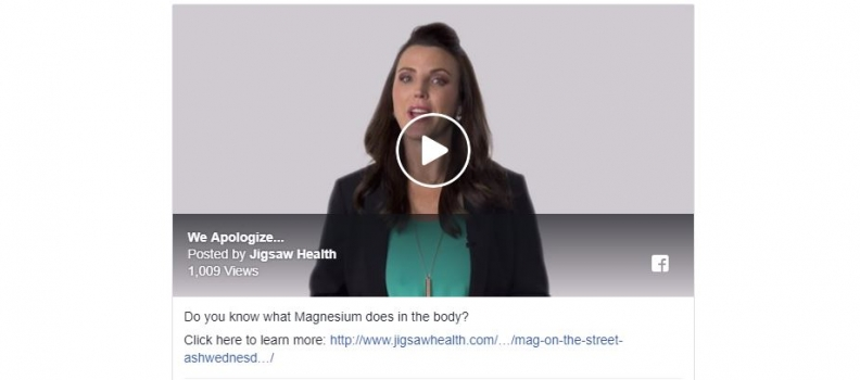 Nearly 7 out of 10 Americans Don't Know What Specific Health Conditions Magnesium Benefits