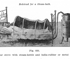 The Steam Bath in Bed