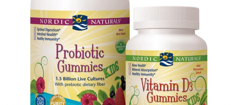 Nordic Naturals Introduces Two New Gummies for Kids